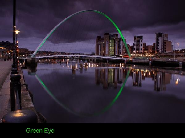 Green Eye by toonboy