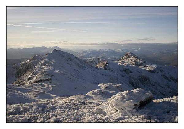 View from Meall nan Tarmachan by firzhugh