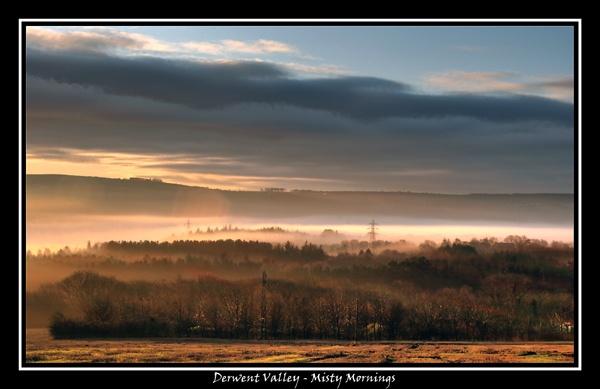 Derwent Valley - Misty Mornings by funkymaggot