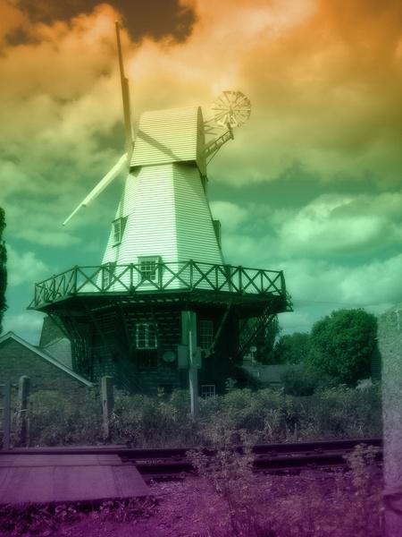 Rye Windmill by adrianj