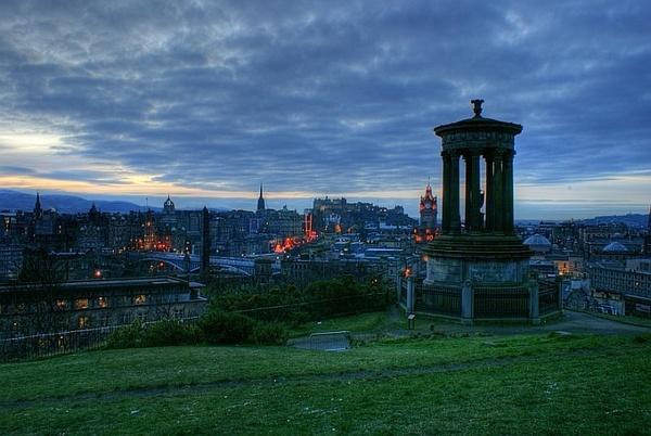 HDR Edinburgh Calton Hill 2009 by icemanonline
