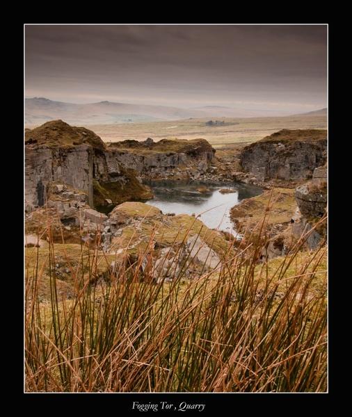 Fogging Quarry , Dartmoor by jer