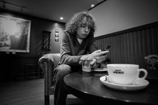 Coffee Break by LeighRebecca