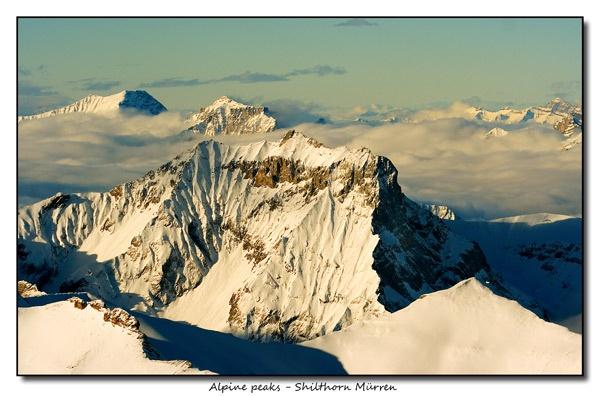 Alpine Peaks by Sheff