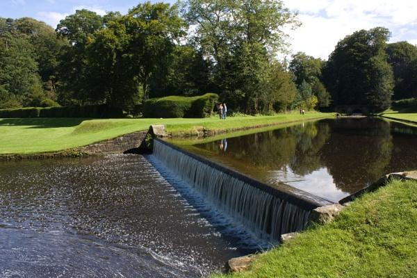 fountains abbey by dawnUK