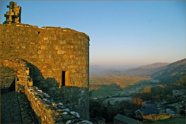 Harlech Castle 1-4 by Mynett