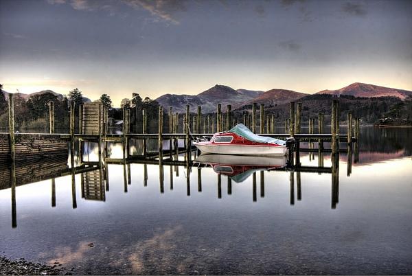 Derwentwater Reflections by DJLphoto