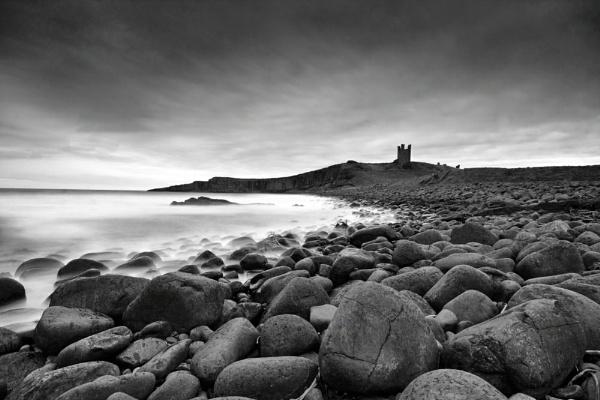 Dunstanburgh Mono by DJLphoto