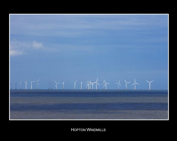 Hopton Windfarm by kevin1964