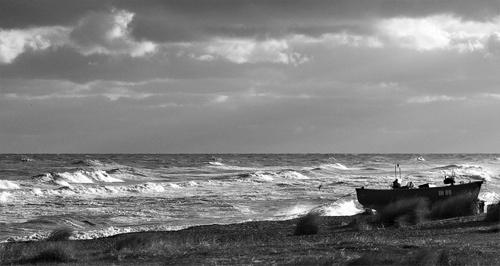 Sizewell beach by Scutter