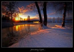 JANUARY LIGHT...