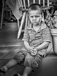 A serious little Mister