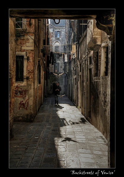 Back Streets of Venice by angej