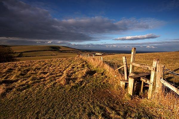 Folkington Hill by Steb
