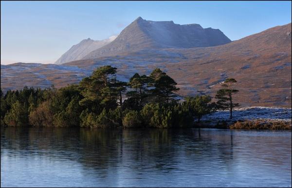 Ben More Coigach from Loch Cul Dromannan by BeiK