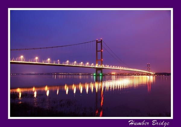 Humber Bridge at dusk by Duncan_E