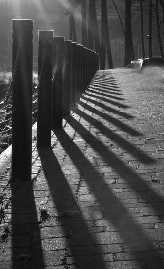 Marina railings by RosePhoto