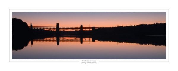 Brittania bridge by alastairwilson