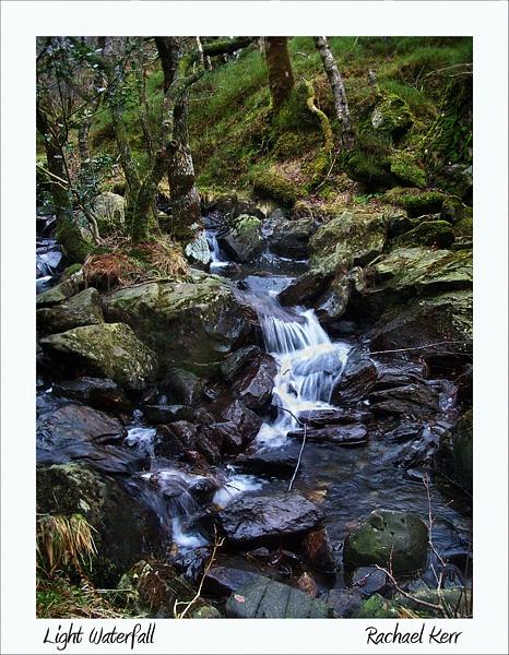 light waterfall by rachaelk