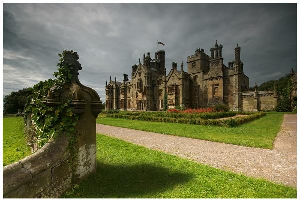 Margam Castle by geoffrey baker