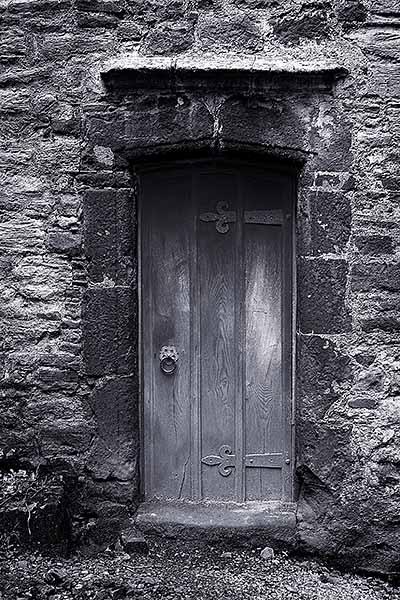 Door, Dunster Castle by Crabtree99