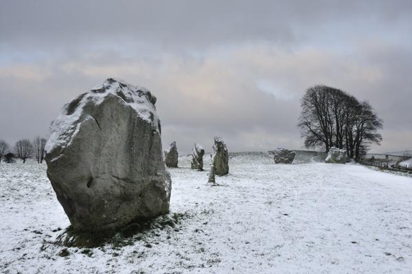 Avebury Winter by rogerbryan