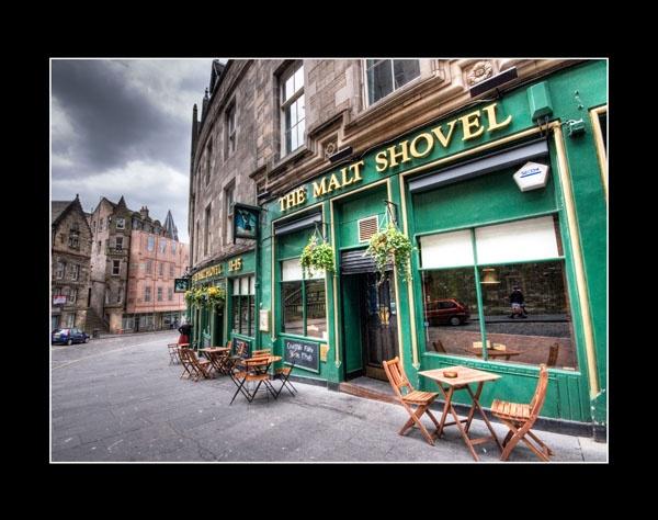 Malt Shovel Pub by Moey