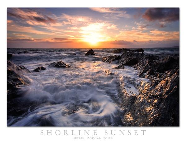 Shoreline Sunset by pmorgan