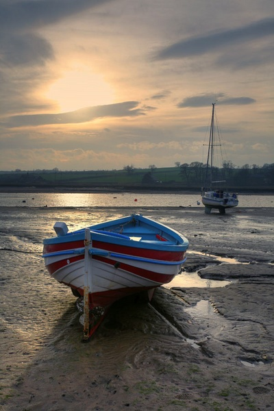Low tide Alnmouth by JGCurry