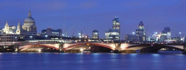 City of London skyline by dickbulch