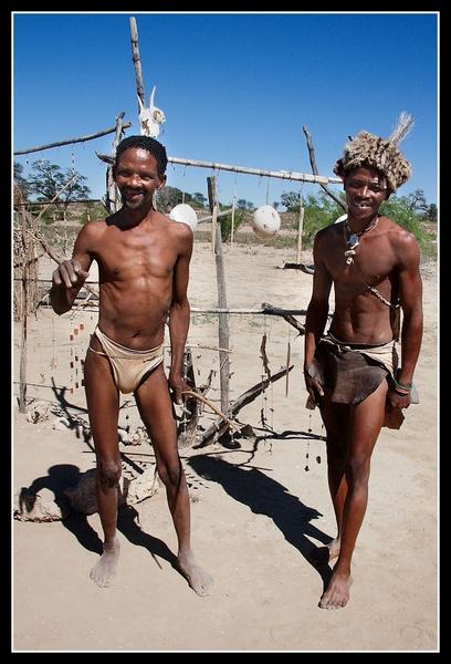 Kalahari Bushmen by challicew