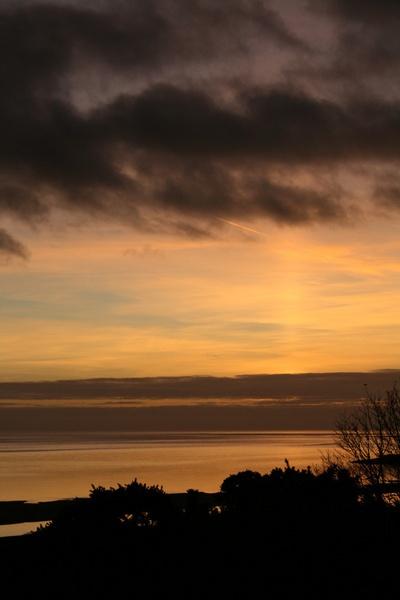 where the sky meets the sea by blacklug