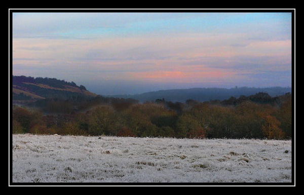 Ground frost by Swanvio