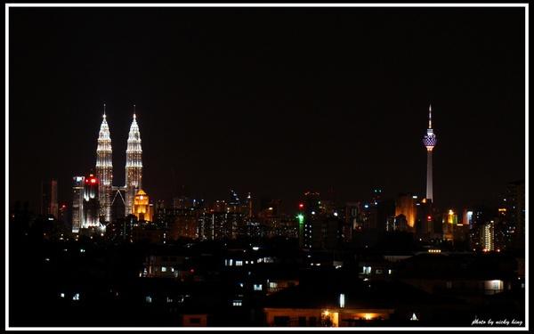 Kuala Lumpur Night View by nickyhing