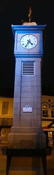 the blue clock by fleetwoodflyers