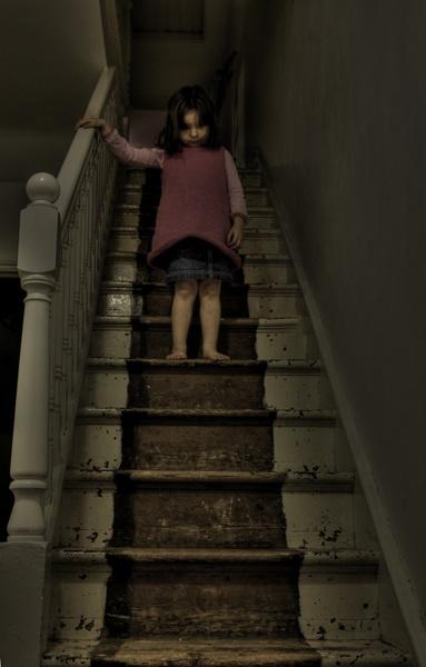 The Dark, Dark Stairs by Fishnet