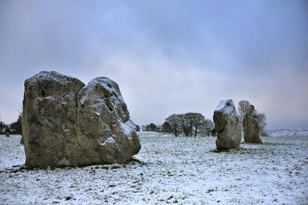 Avebury Winter 2 by rogerbryan