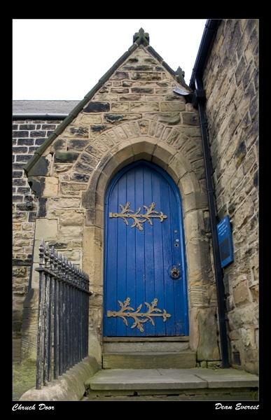 Church Door by svenster