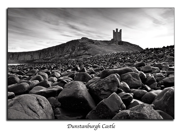 Dunstanburgh Castle by Adobecs