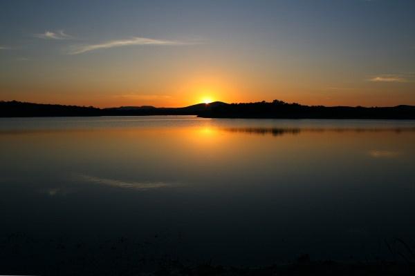 Sunrise, Botswana by freddos