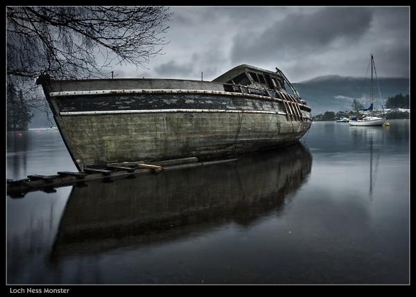 Loch Ness Monster by Sconz