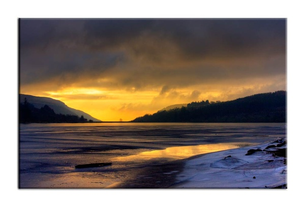 Frozen Res at sunrise by Fearniespurs