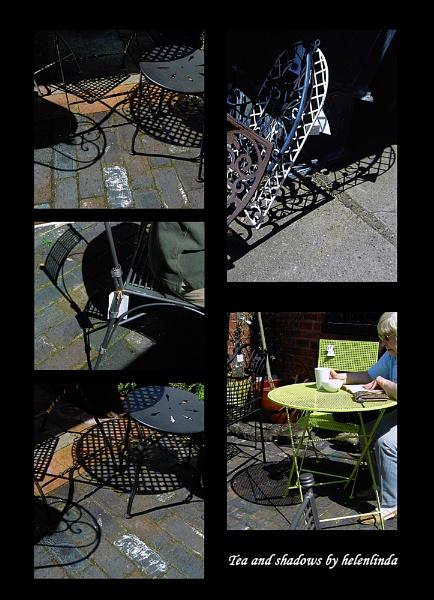Tea and shadows by helenlinda