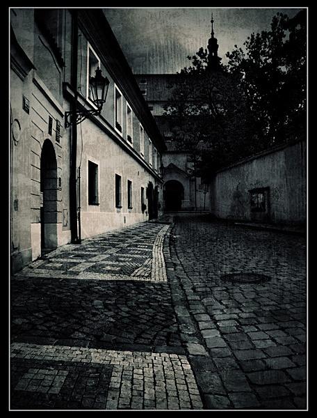 Backstreets of Prague by Katsuro
