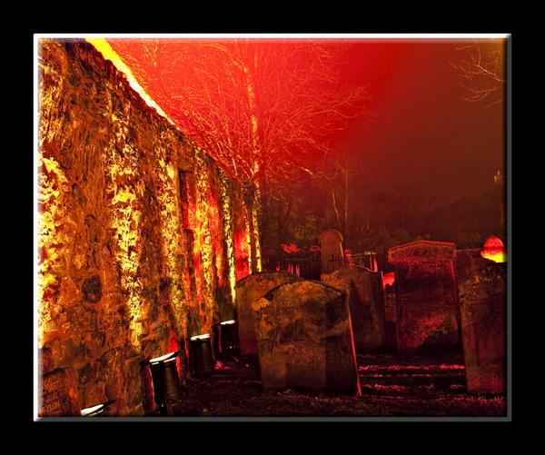 auld kirk grave yard by karen61