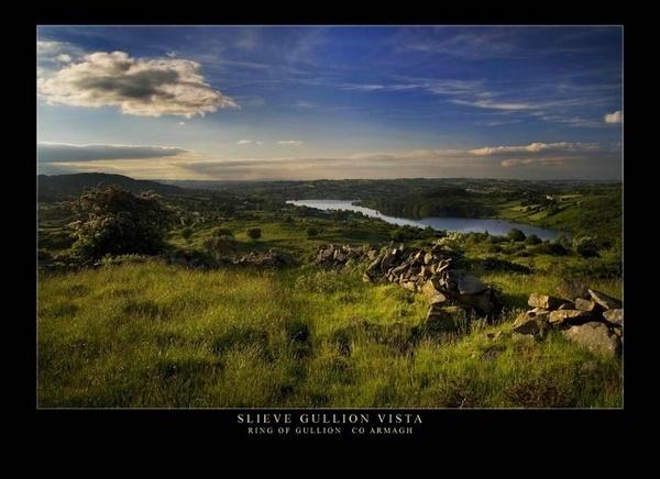 Slieve Gullion Vista by maytownme