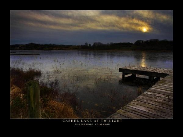 Cashel Lake at Twilight by maytownme