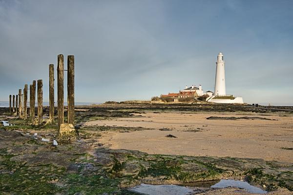 St Marys Lighthouse by DJLphoto