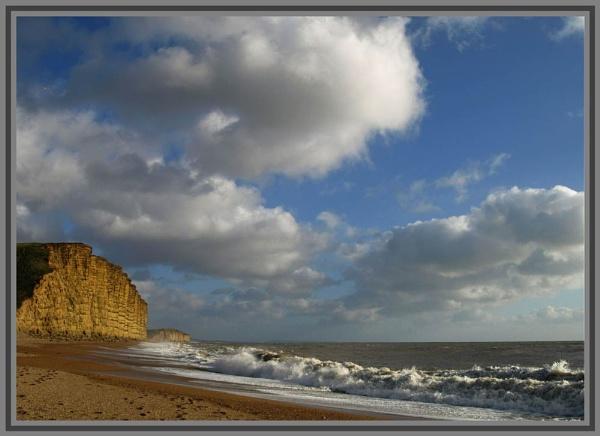sunlit cliffs by jayjay52