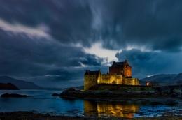 Eilean Donan castle 30 sec